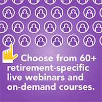 60+ Retirement-Specific CE Courses