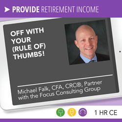 Off With Your (Rule of) Thumbs! - Michael Falk