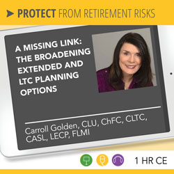 A Missing Link: The Broadening Extended and LTC Planning Options