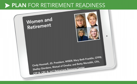 Women and Retirement – Hounsell, Franklin, Giordano, Meredith