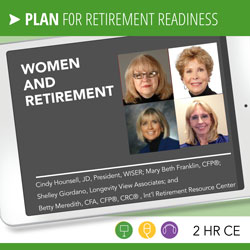 Hounsell, Franklin, Giordano, Meredith – Women and Retirement