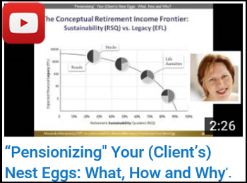 Pensionizing Your (Client's) Nest Eggs: What, How and Why? - Alexandra Macqueen - YouTube clip