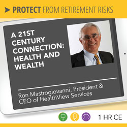 A 21st Century Connection: Health and Wealth - Ron Mastrogiovanni