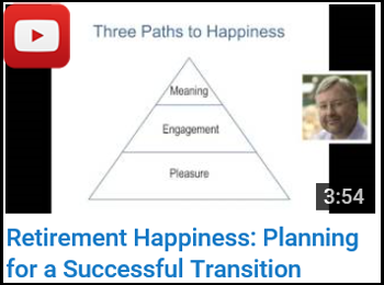 Retirement Happiness: Planning for a Successful Transition - John Nelson - YouTube clip