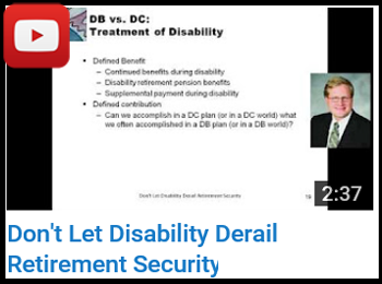 Don't Let Disability Derail Retirement Security - Rappaport and Kaleda - YouTube clip