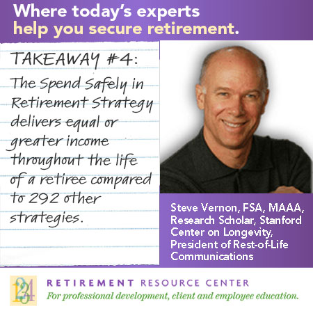 "Takeaway #4: What is the ""Spend Safely in Retirement Strategy""?"