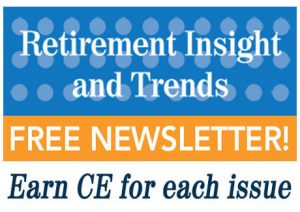 Retirement InSight and Trends Quarterly Newsletter for Professionals